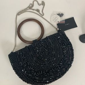 Zara beaded clutch new